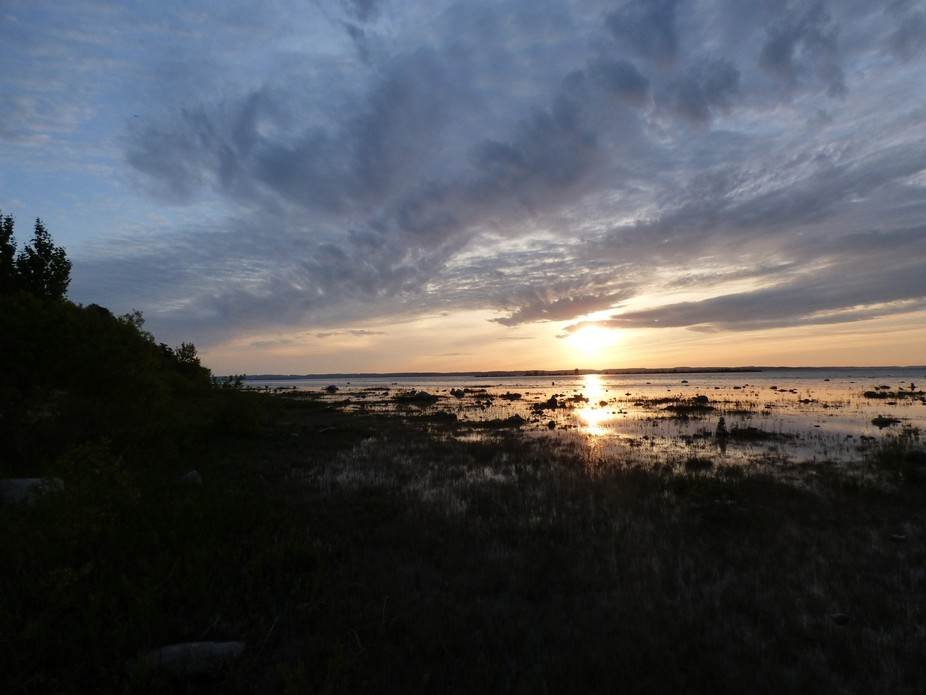 Sunset Over the Grand Traverse Bay