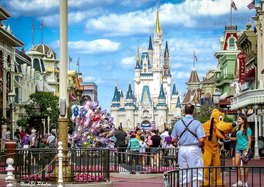A magical view in the Magic Kingdom