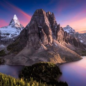 Mount Assiniboine in Canada!