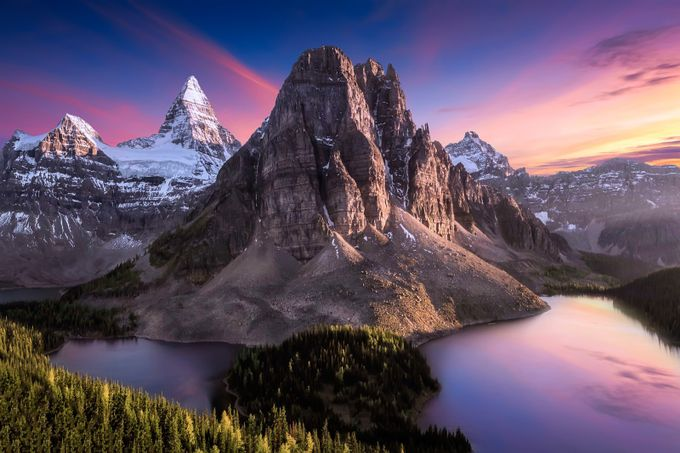 Mount Assiniboine by ShannonRogers1 - Discover Oceania Photo Contest