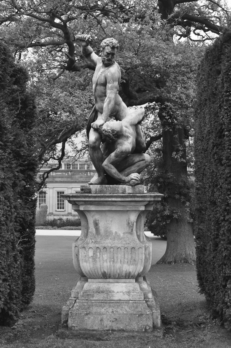 Chatsworth House statuary is the stuff of Greek Legends