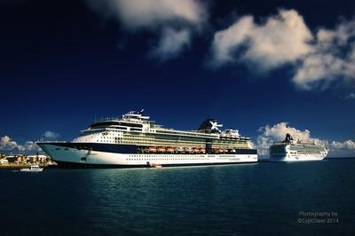 Celebrity Summit - Norwegean Gem King's Wharf, Bermuda 6-2-2011.