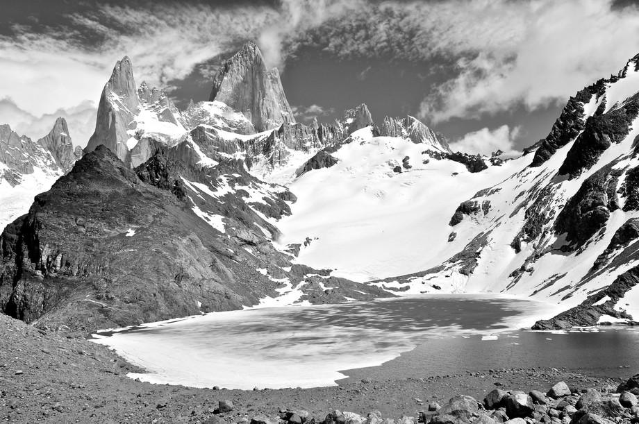 Mount Fitzroy in Patagonia - a breathtaking mountain