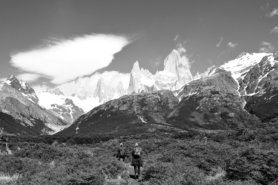 One of the best hikes we've done - Mount Fitzroy, Patagonia.