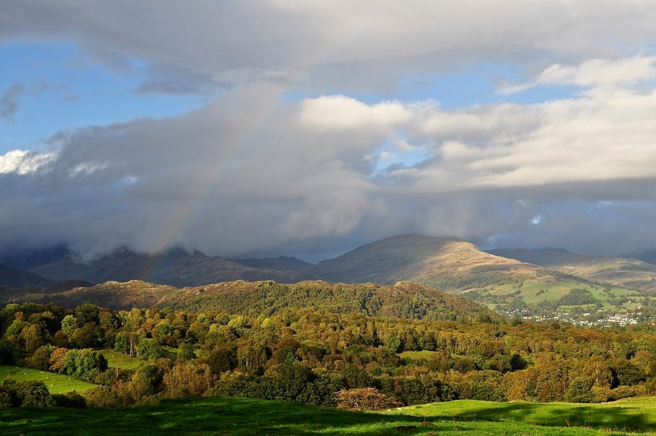 A beautiful autumn day in the Lake District