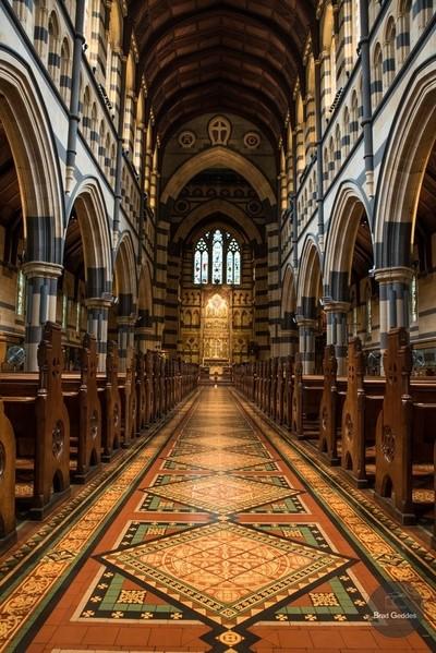 St Paul's Cathedral Melbourne Australia