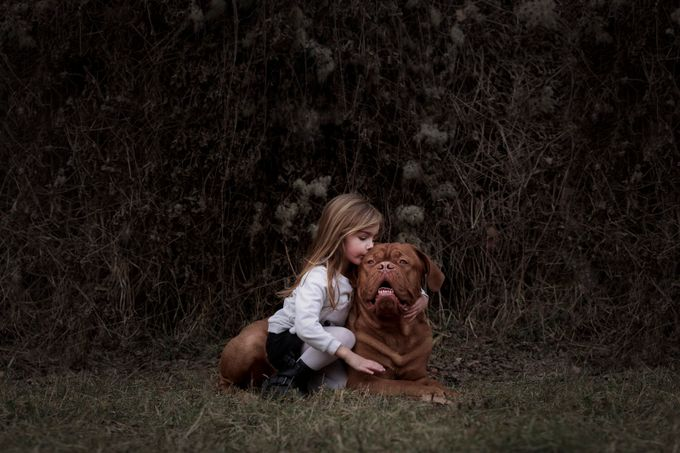Darius and Maeva by thierryvouillamoz - Children and Animals Photo Contest