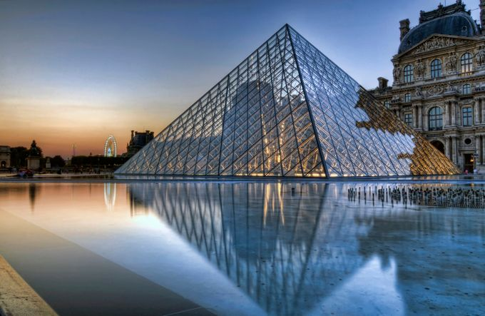 Louvre and Ferris Wheel by Jason_Hayes - Paris Photo Contest