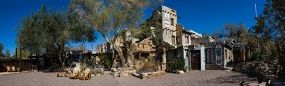 Cabot Yerxa's pueblo in Desert Hot Springs