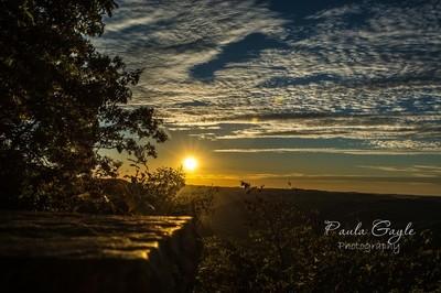 Pine Mountain Sunset