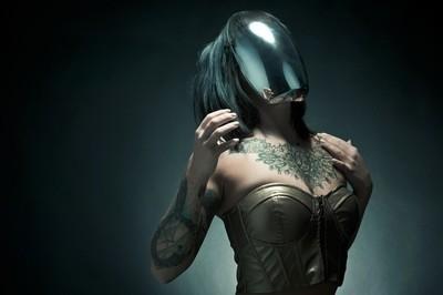Luxey Mirror Mask