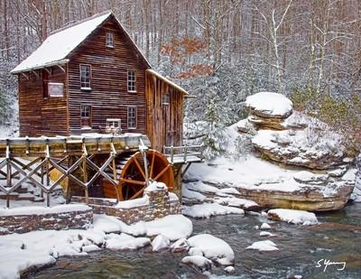 Glade Creek Mill; Clifftop, W Va