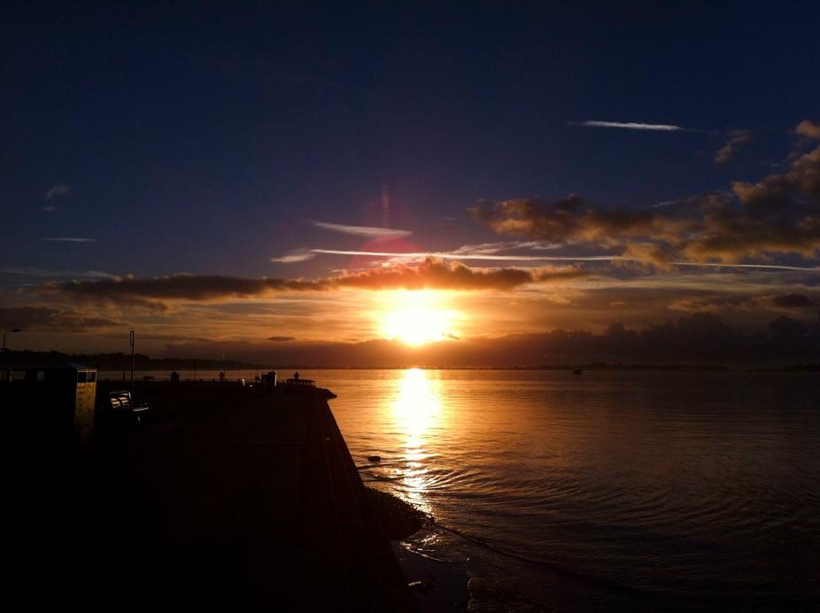 Sunrise Poole Harbour