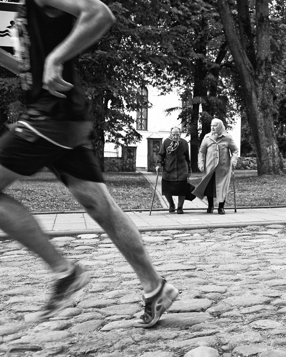 Photo was taken during marathon in Lithuania