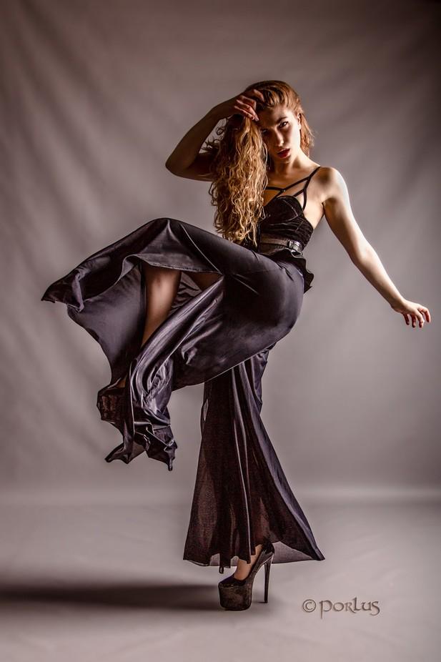 Siren Flowing Black by porlusatmaelstrom - Celebrating Fashion Photo Contest