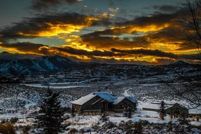 Utah winter sunset pt. 2