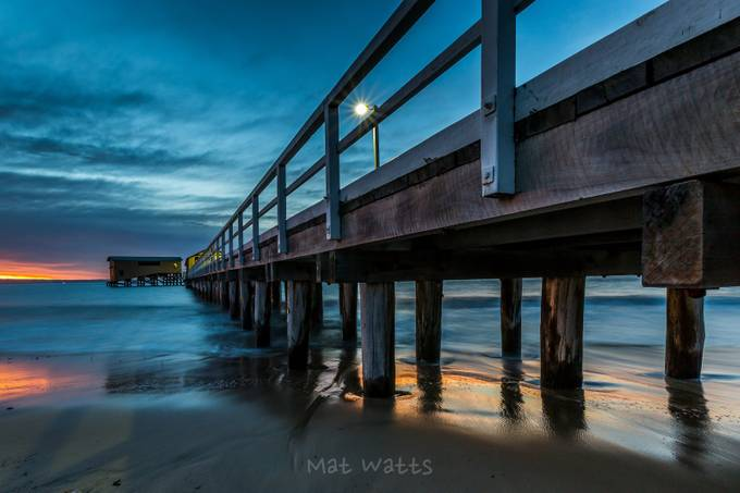 Pier 1 by MatW - Fences Photo Contest