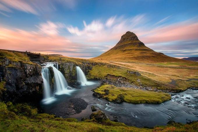 Kirkjufell colors by madspeteriversen - Bright And Colorful Photo Contest