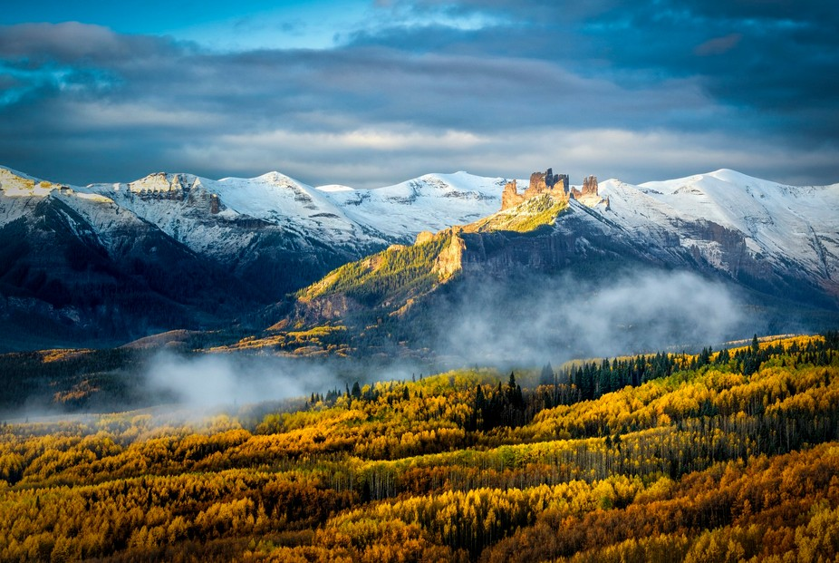 Photographing in the back country of Colorado, we found this scene in the fall of 2015.