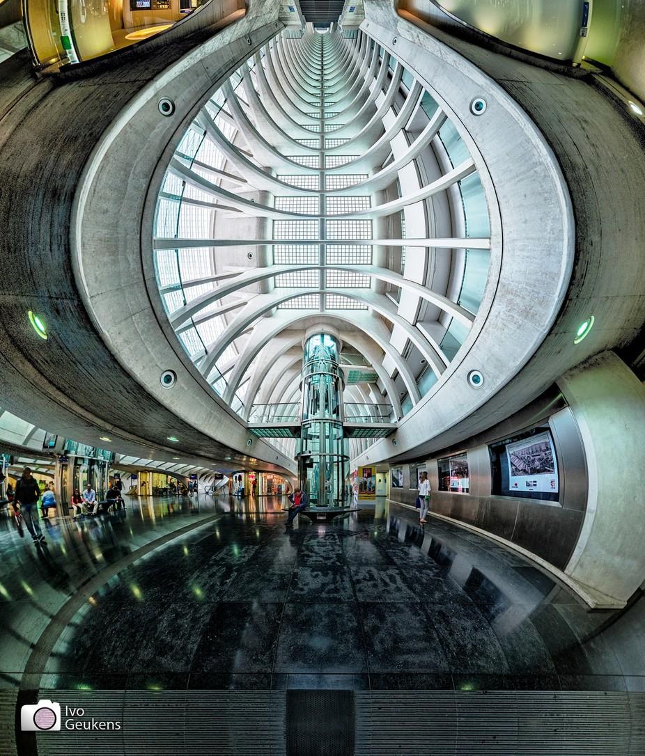 trainstation luik inside by Ivo_Geukens - Modern Architecture Photo Contest