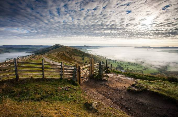 The Gate on the Ridge by martinwest - Fences Photo Contest