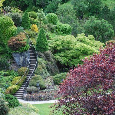 at Buchart Gardens, Victoria, BC
