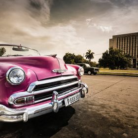 Vintage car in Cuba - hope you like it.