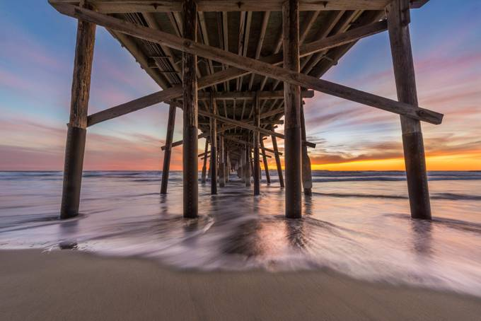 Beyond the Pier by simalg05 - Composition And Leading Lines Photo Contest