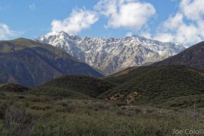 Mt. Baldy from Etiwanda Trail, Rancho Cucamonga, CA