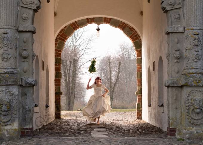 Runaway Bride by Kornum-Photo - Candid Wedding Moments Photo Contest