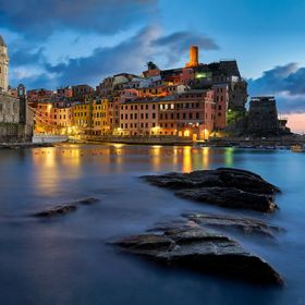 A beautiful moment in the harbor of Vernazza, quite possibly one of the most stunning towns in this world. There are so many vantage points, some...