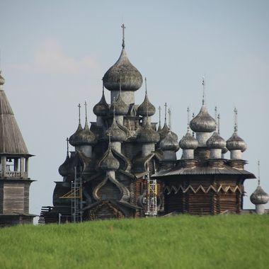 This photo was taken when we were on a boat trip on the Volga River, in the year 2013.
