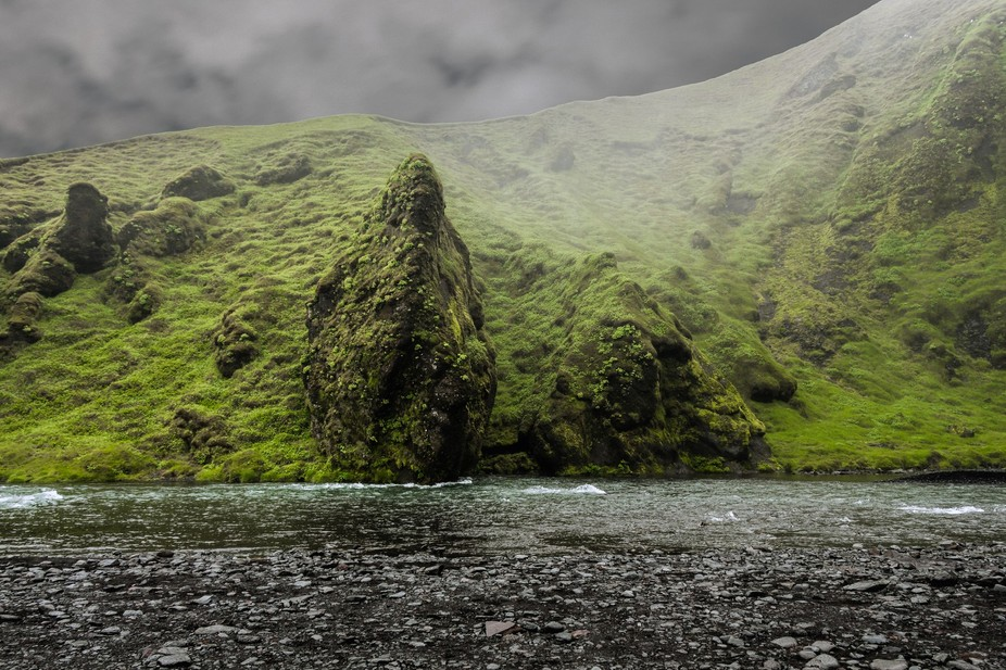 This was taken in Iceland, next to a gorgeous waterfall. It reminded me of Lord of the Rings when...