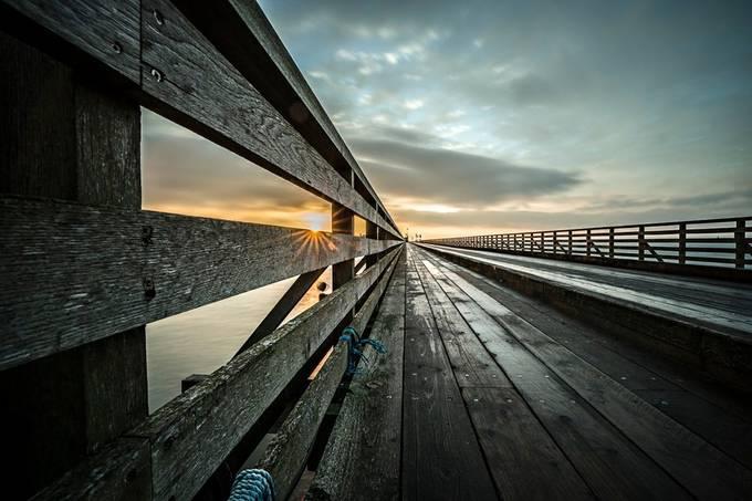 Wooden bridge, Clontarf, Dublin by wojtekpiatek - Promenades And Boardwalks Photo Contest