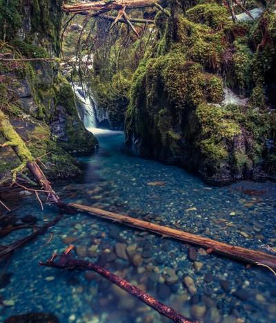 lower virgin creek falls