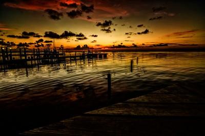 twilight on the Gulf