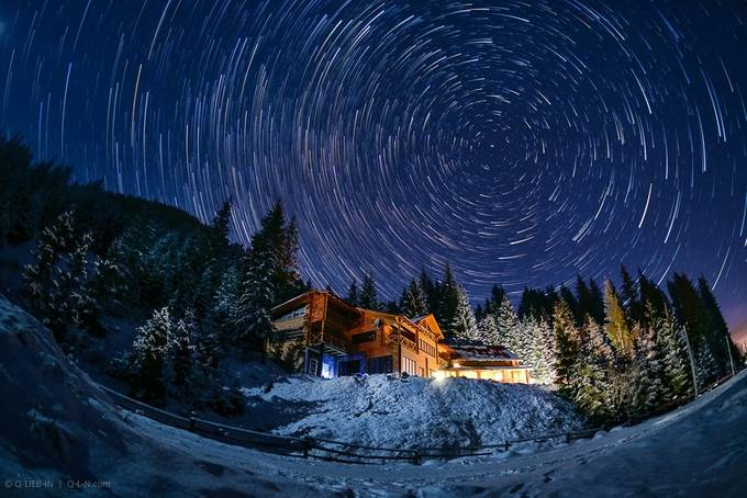 Fairytale night by q-liebin - Winter Long Exposures Photo Contest