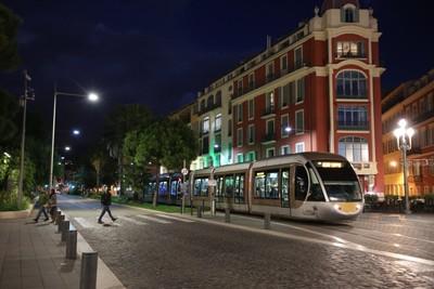 The tram in Nice