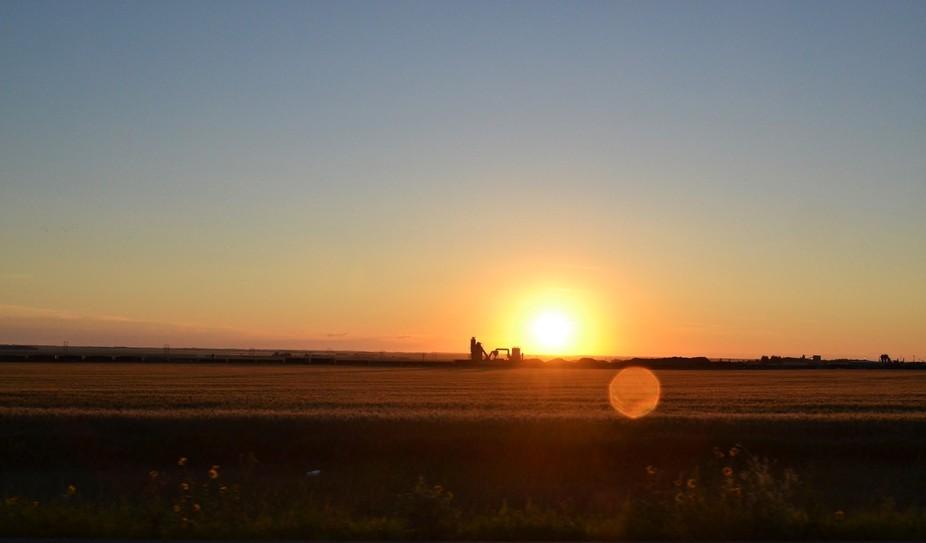 Prairie land.
