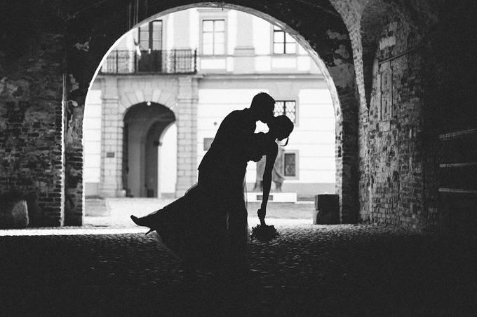 Kiss by matejpaluh - Monochrome Creative Compositions Photo Contest