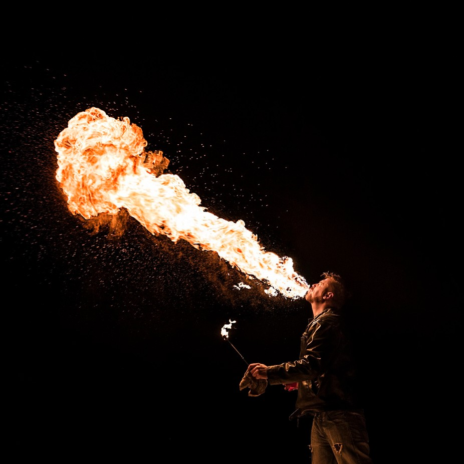 Fire Breath by emxsee - Shooting Fire Photo Contest