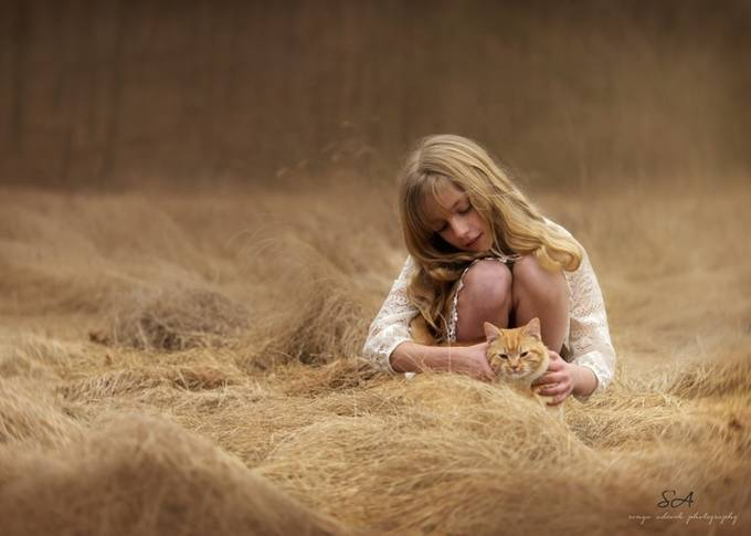 Waves of Gold by SonyaAdcockPhotography - Children and Animals Photo Contest