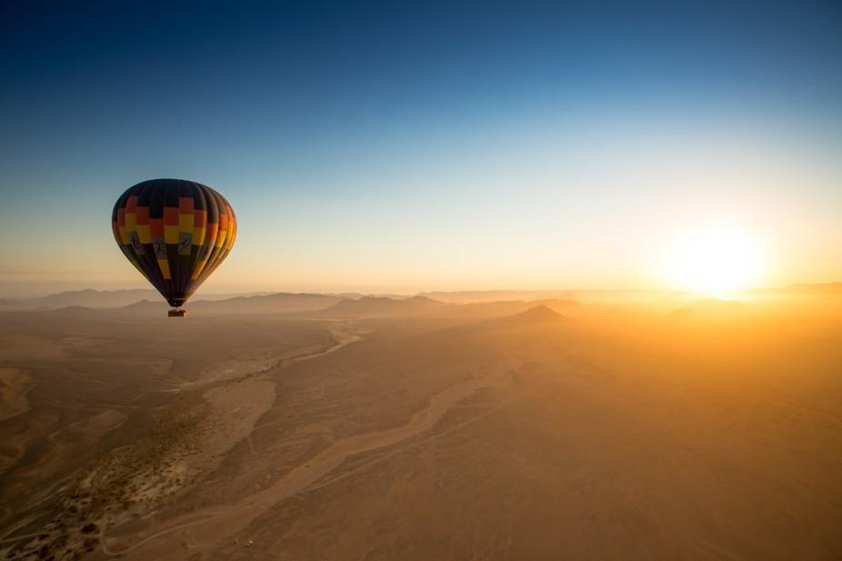 Namibian Desert ballon Ride Jan 2016