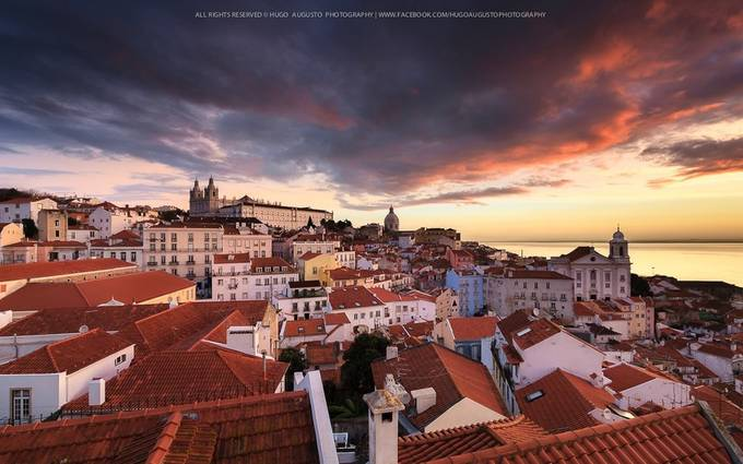 Portas do Sol, Lisbon, Portugal by HugoAugusto - This Is My City Photo Contest