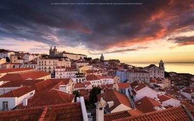 Portas do Sol, Lisbon, Portugal