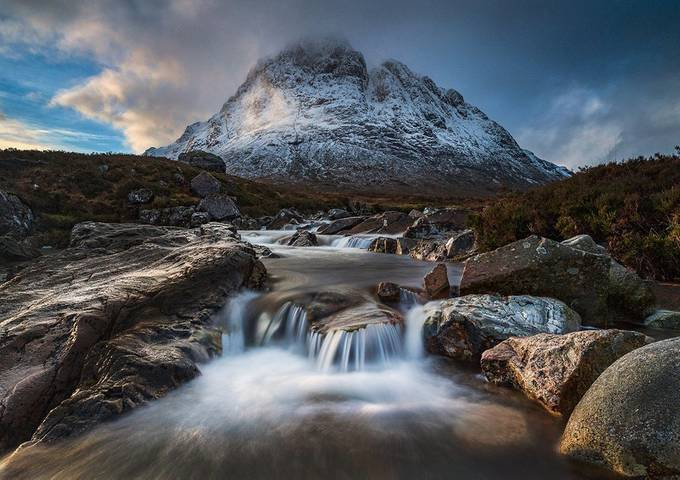 The Shepherd, Glen Coe, Scotland by shahbazmajeed - Beautiful Waterfalls Photo Contest