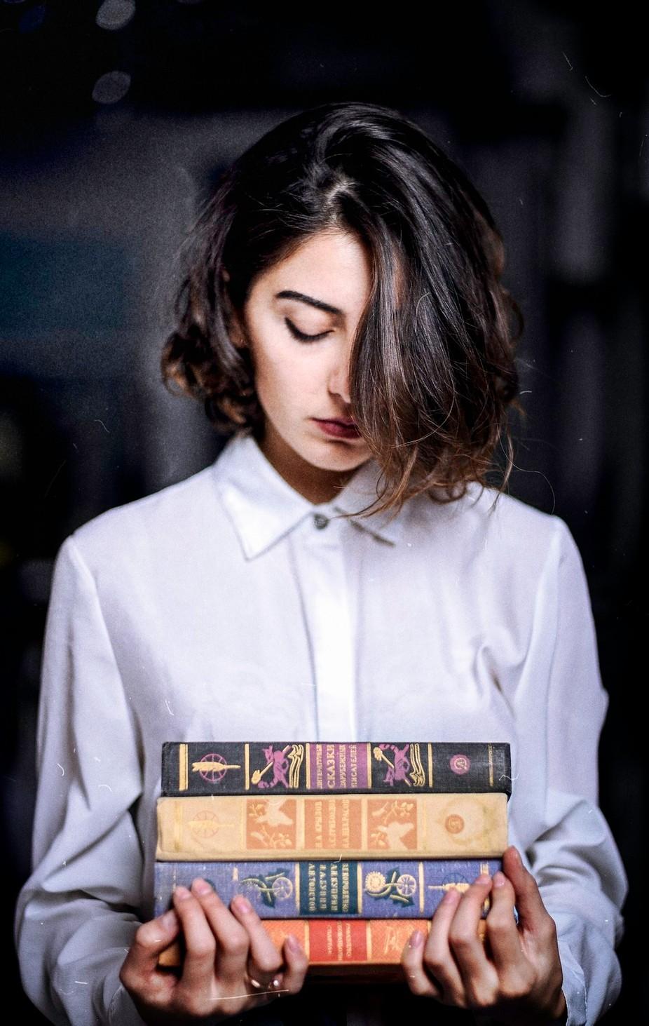 reader  by mitojashiashvili - The Fluid Self Photo Contest