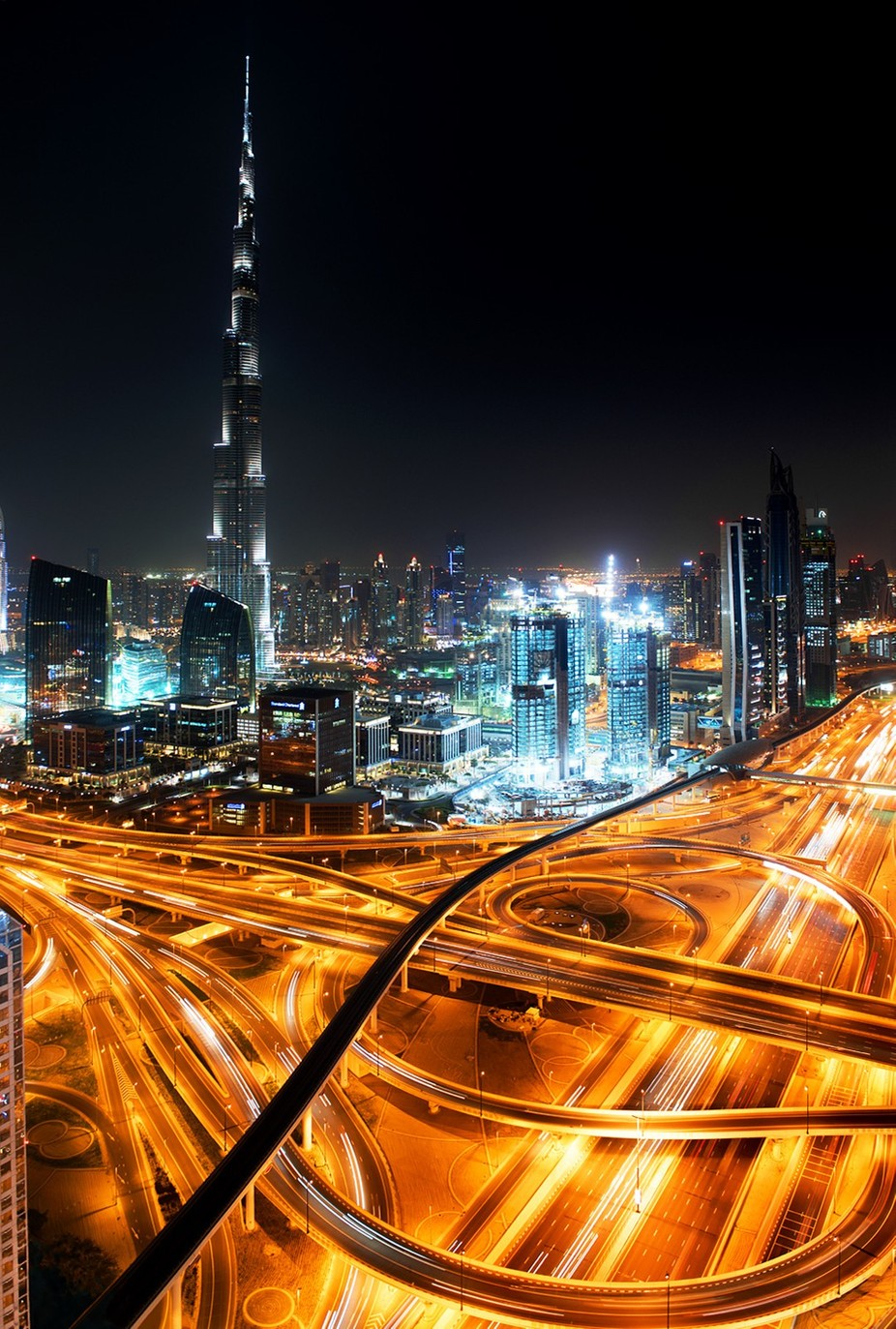 Burj Khalifa by Night by PhillipMinnis - City Views Photo Contest