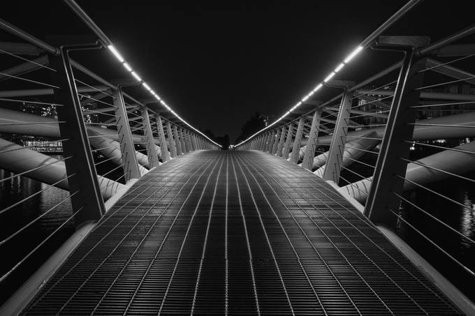 Canoe Bridge by nikipike - Parallel Compositions Photo Contest