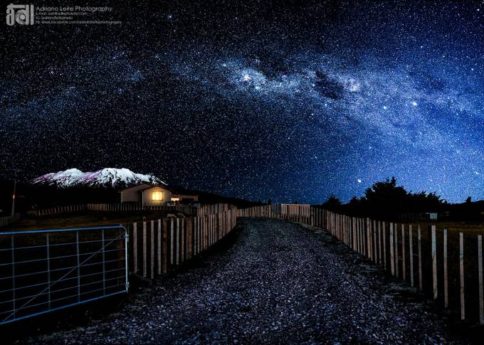 milky way - farm - nz-LOGO by adrianoleitephoto - Fences Photo Contest
